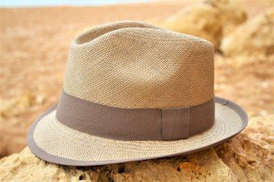 Panama Hut Aguacate Gris